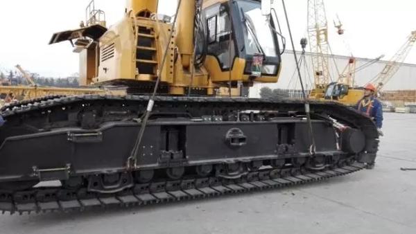 55吨及以上产品均可实现履带梁自拆转