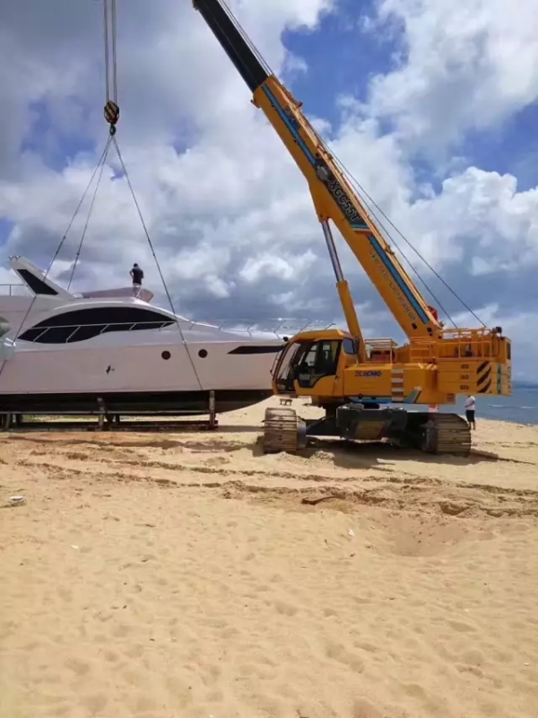 XGC25T海南三亚沙滩施救搁浅游艇
