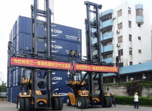 三一吊具SDJ450与顺德北滘港客户的故事