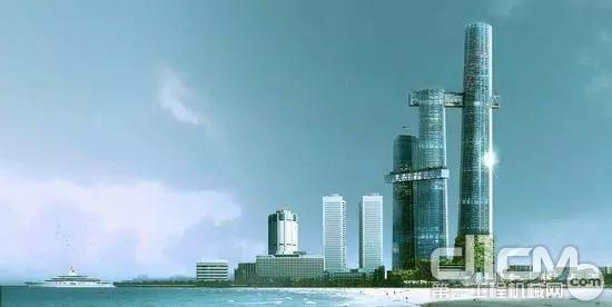 克里斯特广场摩天楼项目效果图