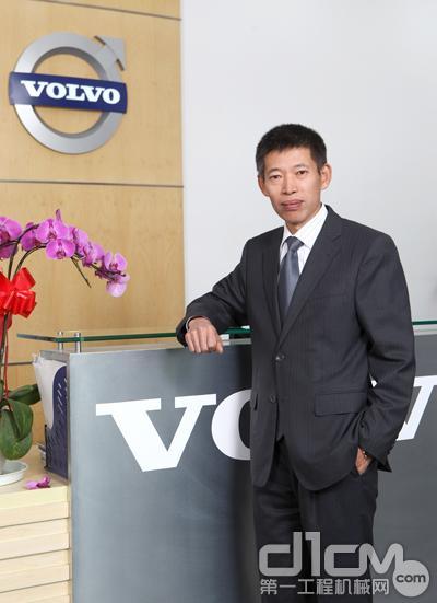 沃尔沃建筑设备(中国)有限公司总裁李岩(Robert Li)
