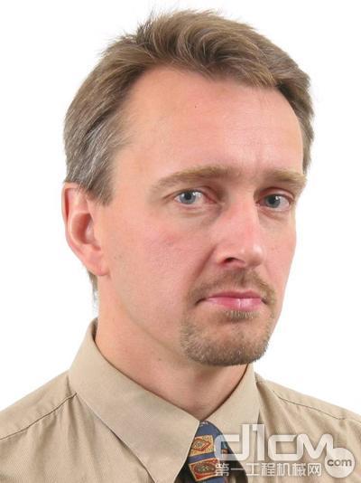 沃尔沃建筑设备济南技术中心总裁童汉柏(Toni Hagelberg)