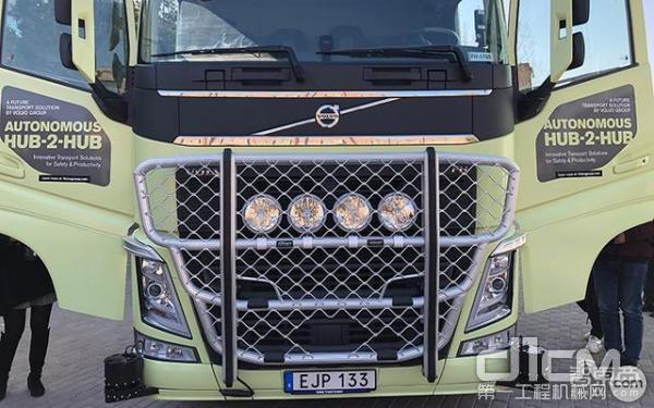 沃尔沃自动驾驶卡车