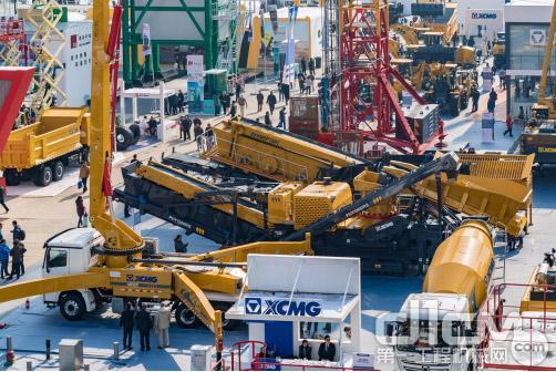 混凝土设备在上海宝马展