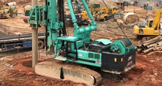 金泰SH38多功能旋挖钻 引领国产品牌实现逆袭