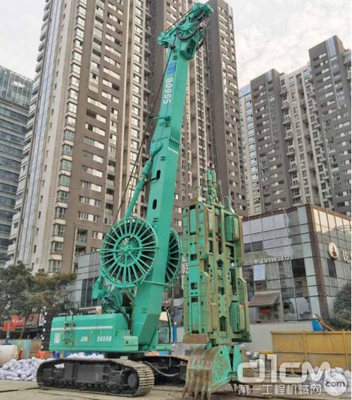 上海金泰SG60B液压连续墙抓斗