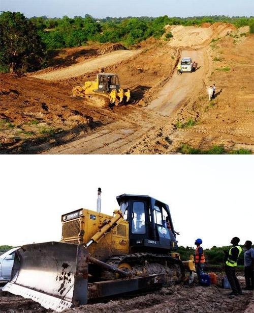 """东非坦桑尼亚中央铁路上的中国""""推坚强"""""""