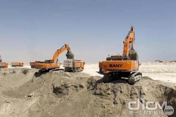 三一挖掘机