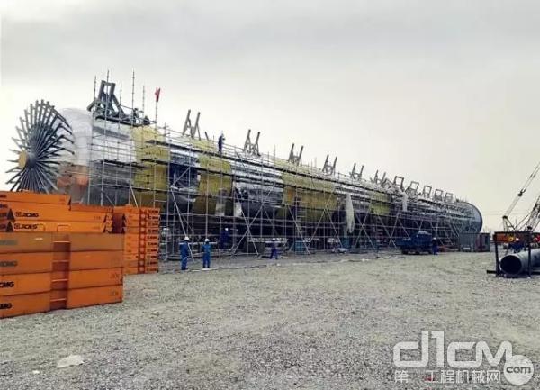 目前全世界最大乙烯裂解装置的2#丙烯塔