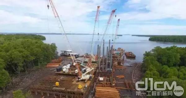 淡布隆跨海大桥项目