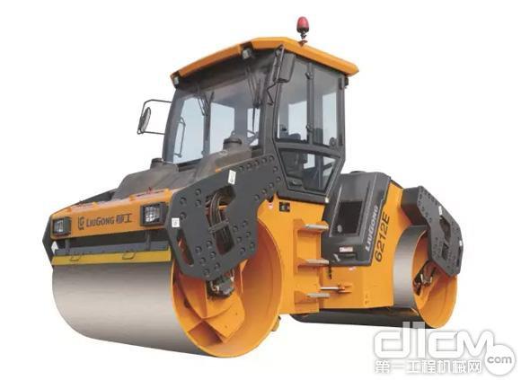 柳工 CLG6212E 双钢轮压路机