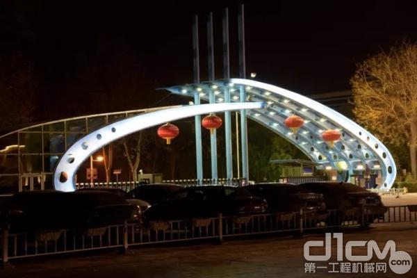 西安市阎良区夜景