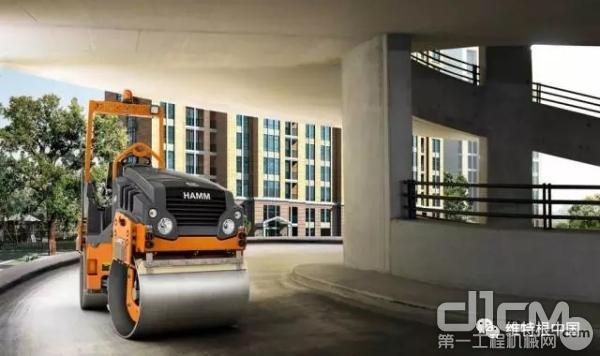 双钢轮压路机 HD 10 CVV