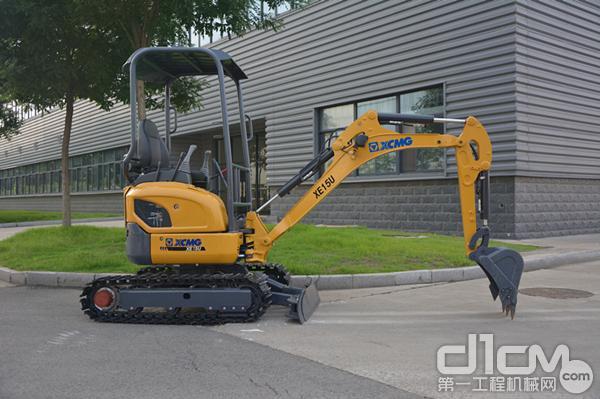 徐工电动液压挖掘机xe15e图片