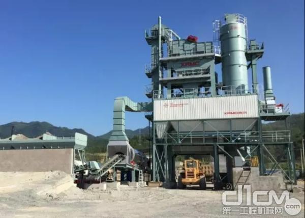 西筑公司两套JD2000型沥青搅拌设备