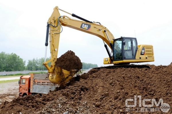 新一代Cat® 320挖掘机