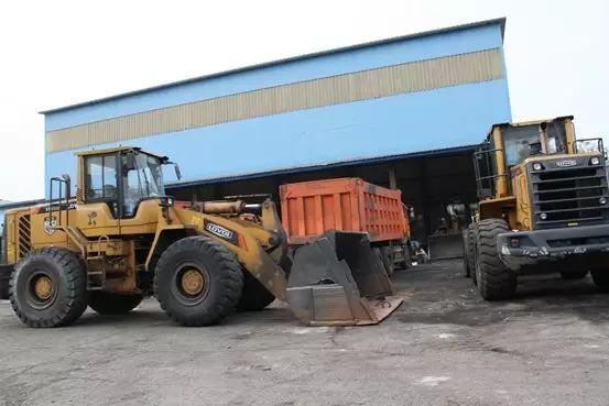 银水集团工程机械维修站