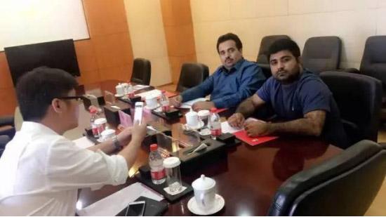 ▲巴基斯坦客户一次网购10台三一全液压压路机