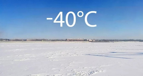 追冰逐雪 潍柴国六动力挑战零下40℃