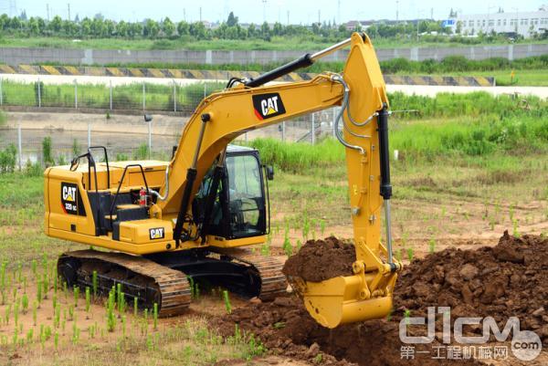新一代Cat 320 GC液压挖掘机专为中轻负荷工况应用量身打造