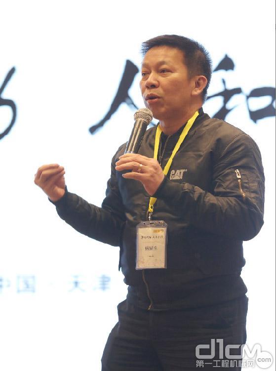 利星行机械首席执行官傅耀生