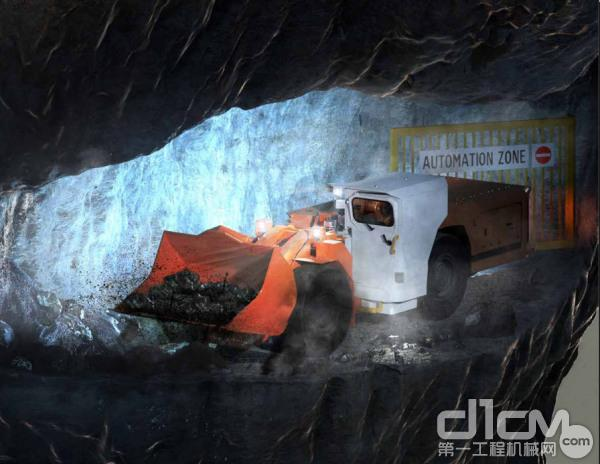地下<a href=http://product.d1cm.com/chanyunji/ target=_blank>铲运机</a>和卡车