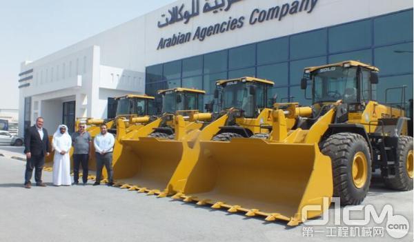 山东临工在卡塔尔的独家设备经销商阿拉伯代理公司