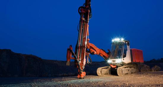 山特维克露天钻系列钻机——北极圈里的DP1500i