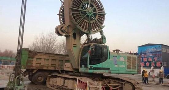 金泰SG连续墙抓斗 进军京城基础工程