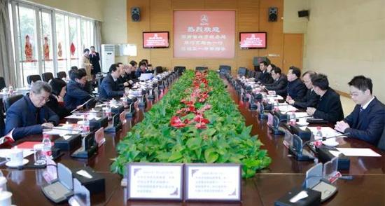湖南省地税局局长周巧艺调研三一 助推企业发展