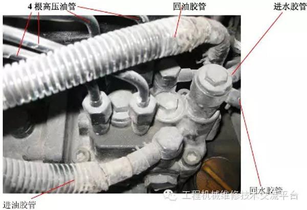 洋马柴油机泵头更换方法