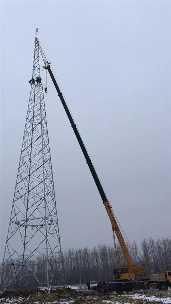 在吉林,XCT25助力国家电网建设