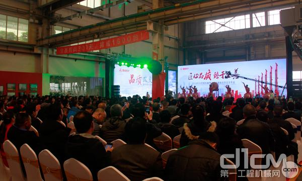 2018年北京桩机春季订货会暨旋挖新品发布会活动现场