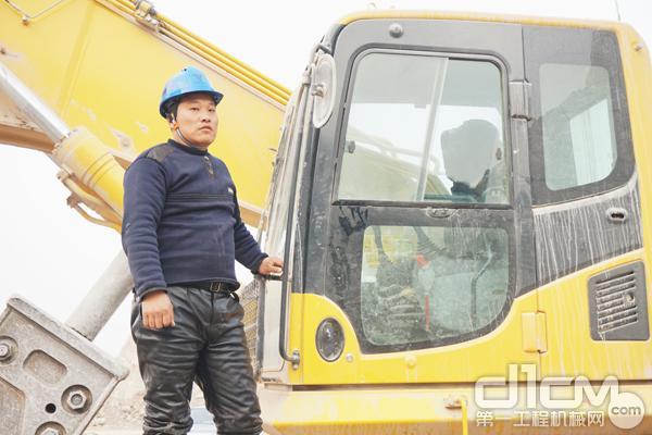 兆华石料厂日常生产管理队长——吴涛