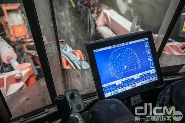 山特维克DT1131i全电脑台车操作屏