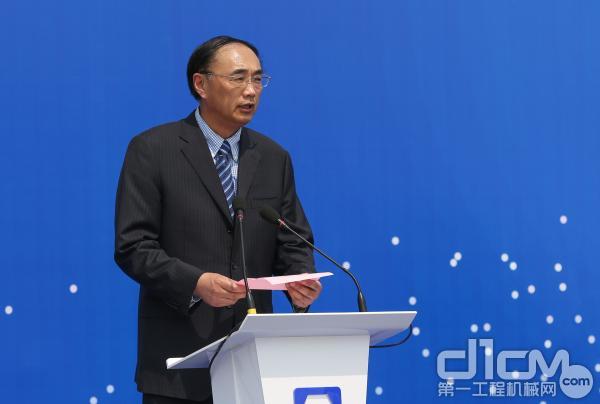 中国矿业大学校长、党委副书记葛世荣致辞