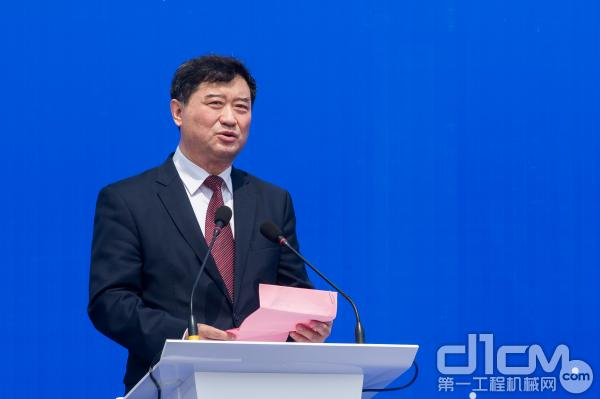 中国钱柜777娱乐官网钱柜娱乐777官网登录 工业协会常务副会长兼秘书长苏子孟致辞