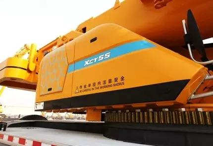 徐工G一代XCT55L6汽车起重机