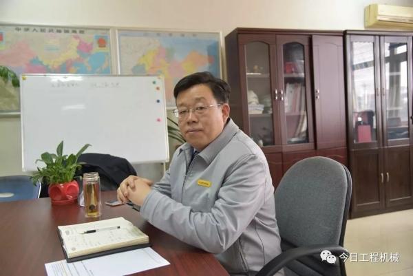 雷沃重工总经理助理、装载机业务总监王金华先生