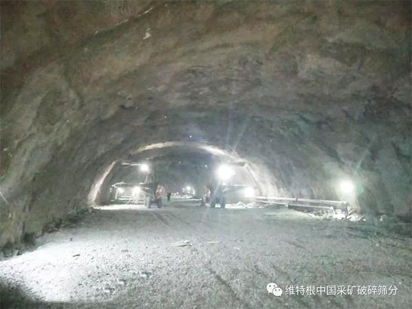 白洋沟隧道左线