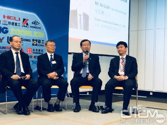 2018中国工程机械品牌推介活动<a href=http://news.d1cm.com target=_blank>新闻</a>发布会