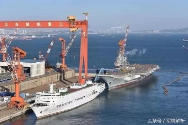 001A型航空母舰是中国首艘自主建造的新型航母