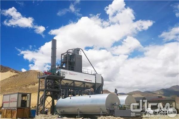 中交西筑J1500型沥青混合料搅拌设备