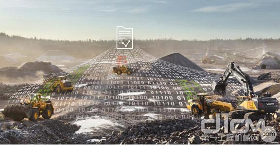 """沃尔沃建筑设备运用""""大数据""""技术监测设备运行情况"""