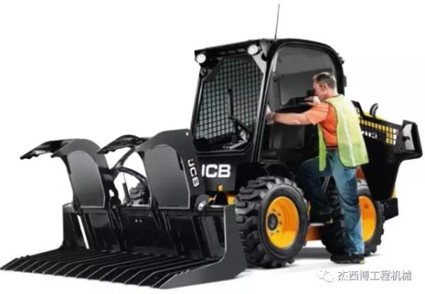 JCB滑移装载机