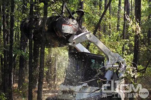 山猫林木切割机