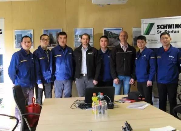 徐工施维英国际焊接团队