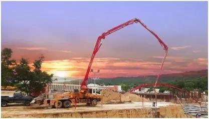 徐工泵车助力委内瑞拉建设