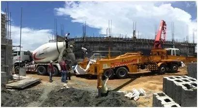 徐工成套混凝土机械设备助力菲律宾基础设施建设