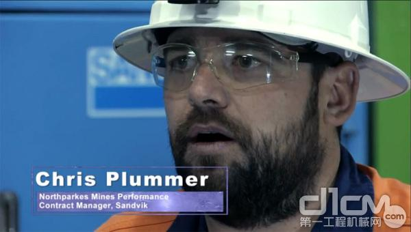 Chris Plummer,北帕克斯矿山合同执行经理